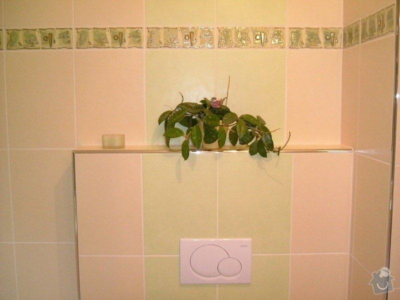 Rekonstrukce koupelny ve starší zástavbě: 56-19