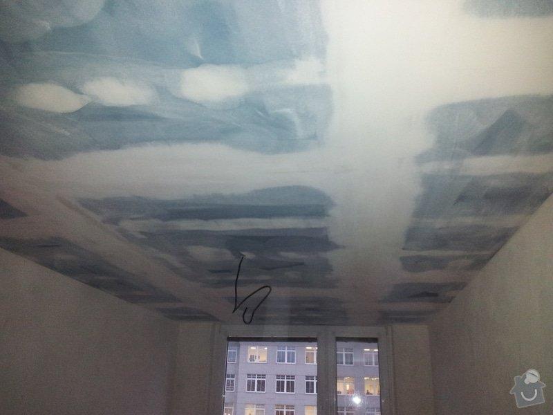 Odhlučnění stropu - folie AMS Tecsound: 20120228_172645