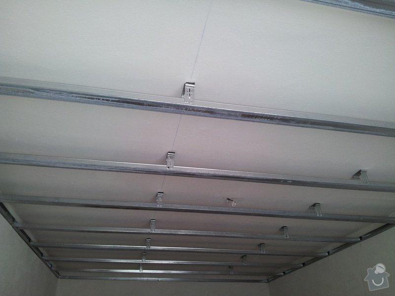 Odhlučnění stropu - folie AMS Tecsound: 20120227_113202
