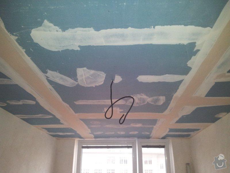 Odhlučnění stropu - folie AMS Tecsound: 20120227_170227