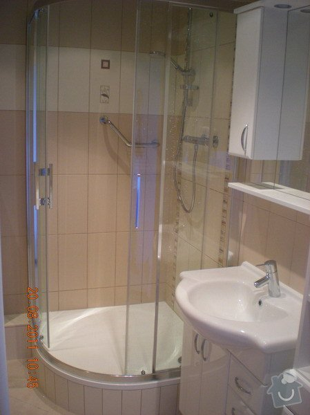 Přestavba bytového jádra,změna dispozice kuchyně: 141-01-Hodkovice_nad_Mohelkou-Podlesi