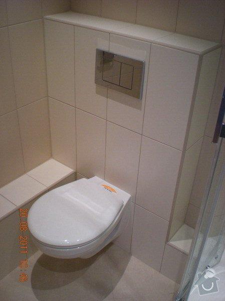Přestavba bytového jádra,změna dispozice kuchyně: 141-04