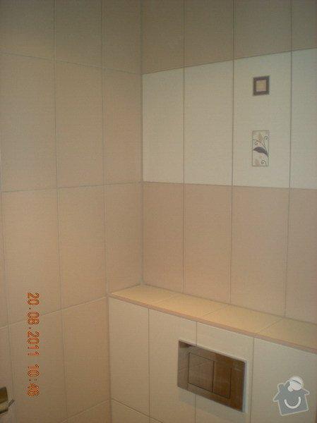 Přestavba bytového jádra,změna dispozice kuchyně: 141-06