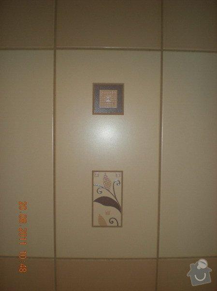 Přestavba bytového jádra,změna dispozice kuchyně: 141-07