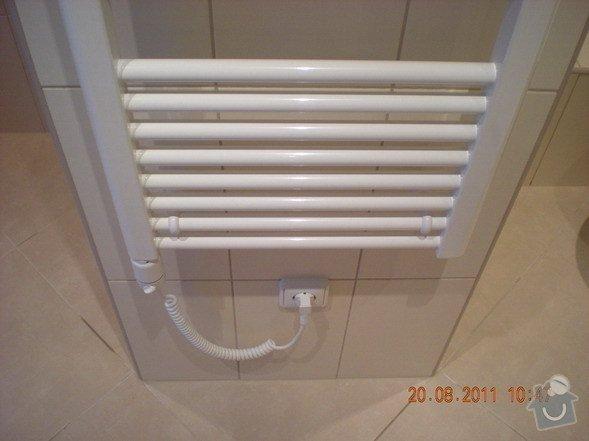 Přestavba bytového jádra,změna dispozice kuchyně: 141-09