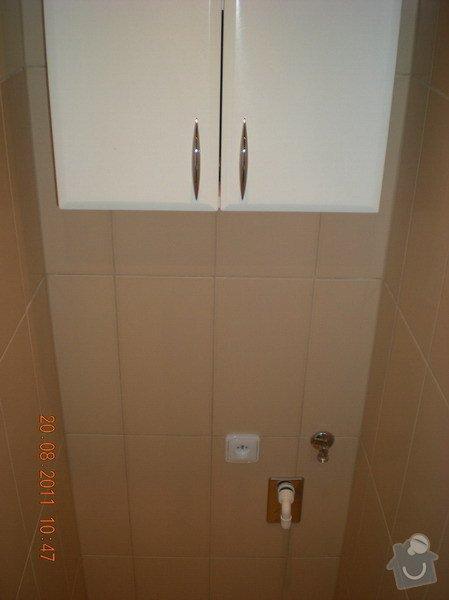 Přestavba bytového jádra,změna dispozice kuchyně: 141-10
