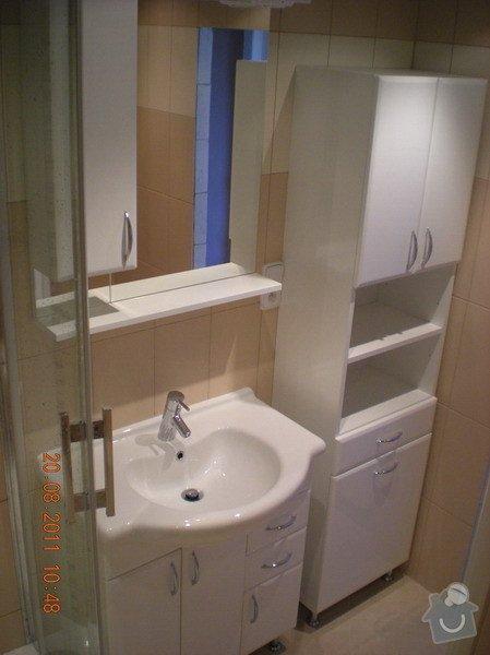 Přestavba bytového jádra,změna dispozice kuchyně: 141-12