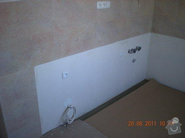 Přestavba bytového jádra,změna dispozice kuchyně: 141-14