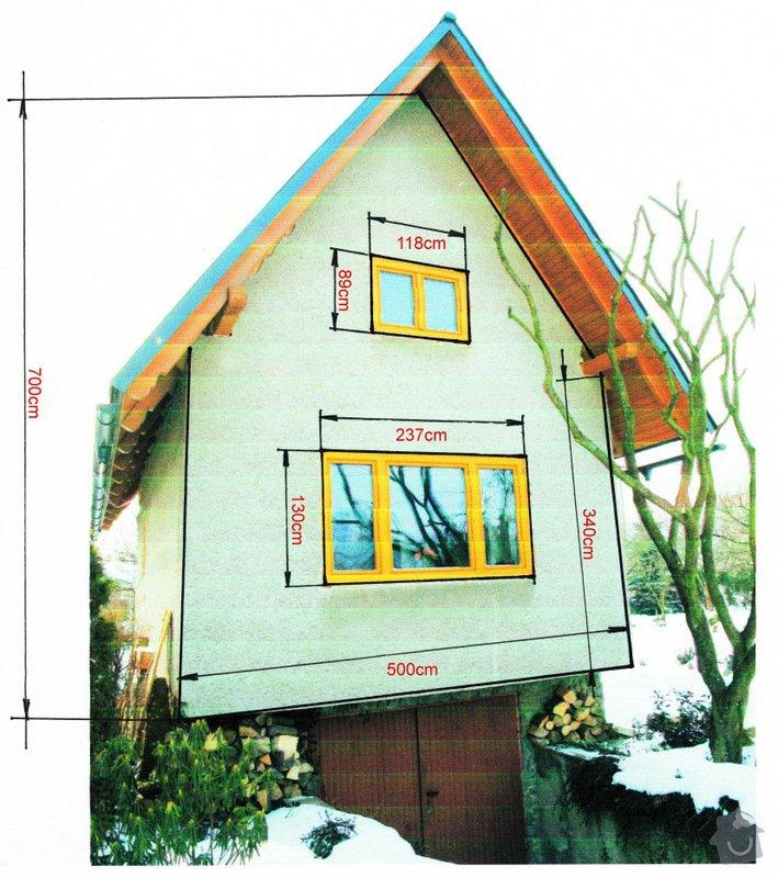 Zateplení domku systémem Novabrik: chata