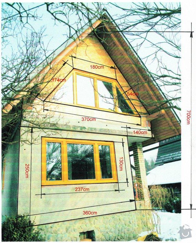 Zateplení domku systémem Novabrik: chata_1