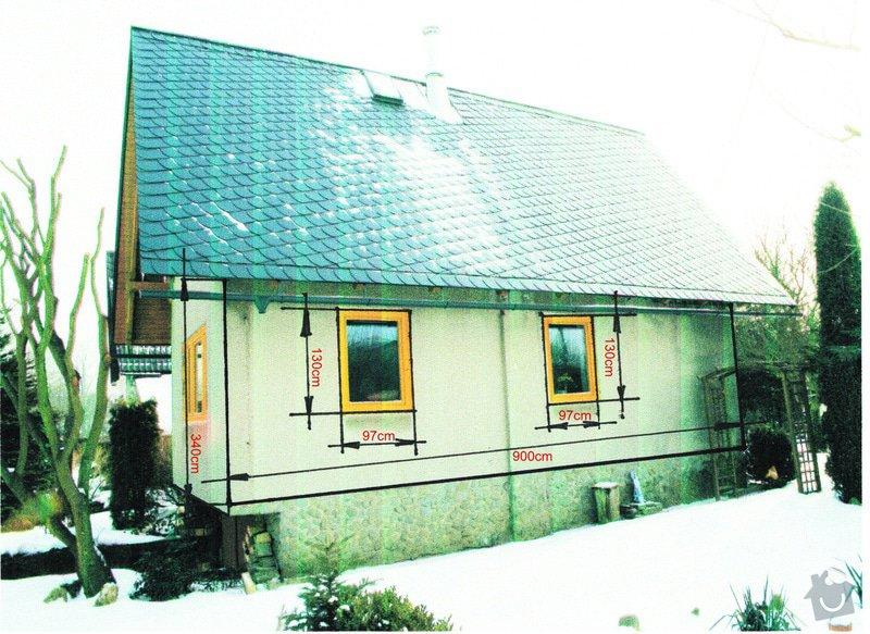 Zateplení domku systémem Novabrik: chata_2
