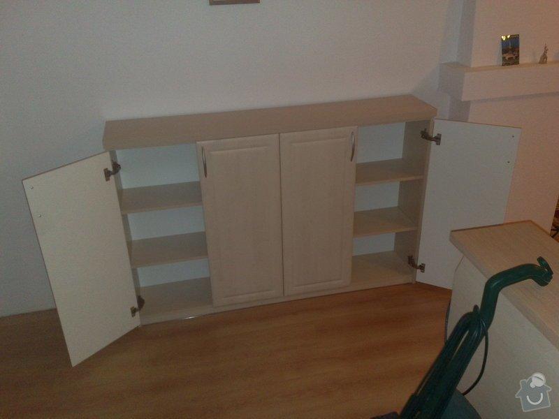 Vestavěná skříň, šikmá vestavěná skříň, škříň, PC stůl, noční stolky a ostatní nábytek: 26112010706