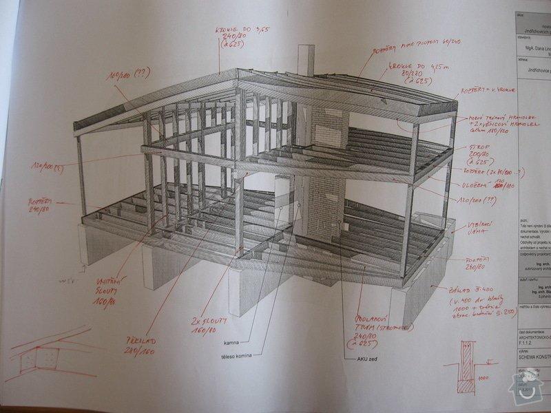 Dřevěná konstrukce RD, tesařina: IMG_7973