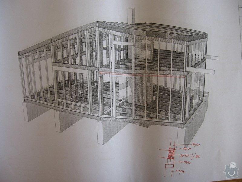 Dřevěná konstrukce RD, tesařina: IMG_7972