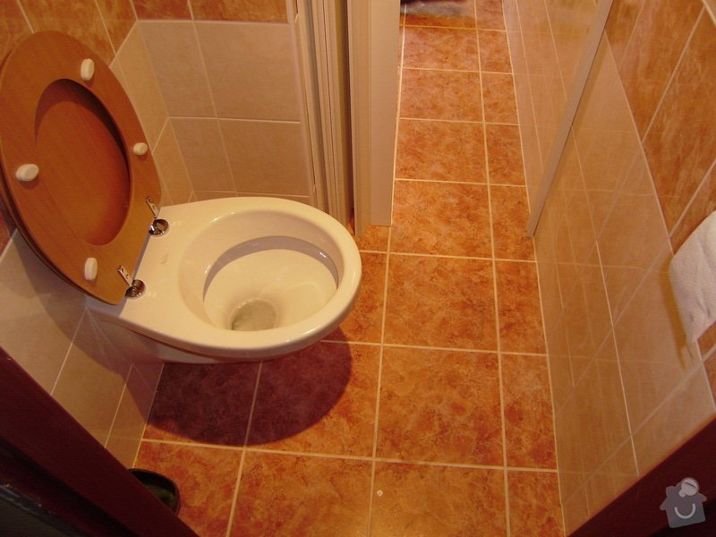Rekonstrukce koupelny a WC: PB120055