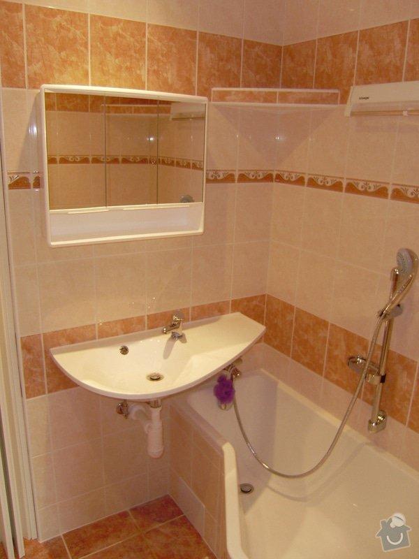 Rekonstrukce koupelny a WC: PB120059