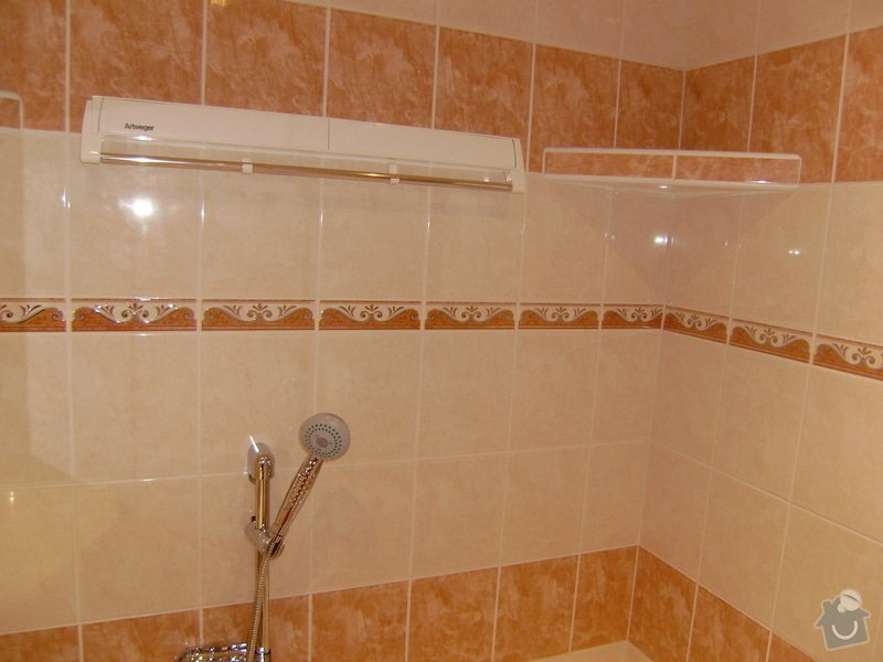 Rekonstrukce koupelny a WC: PB120061