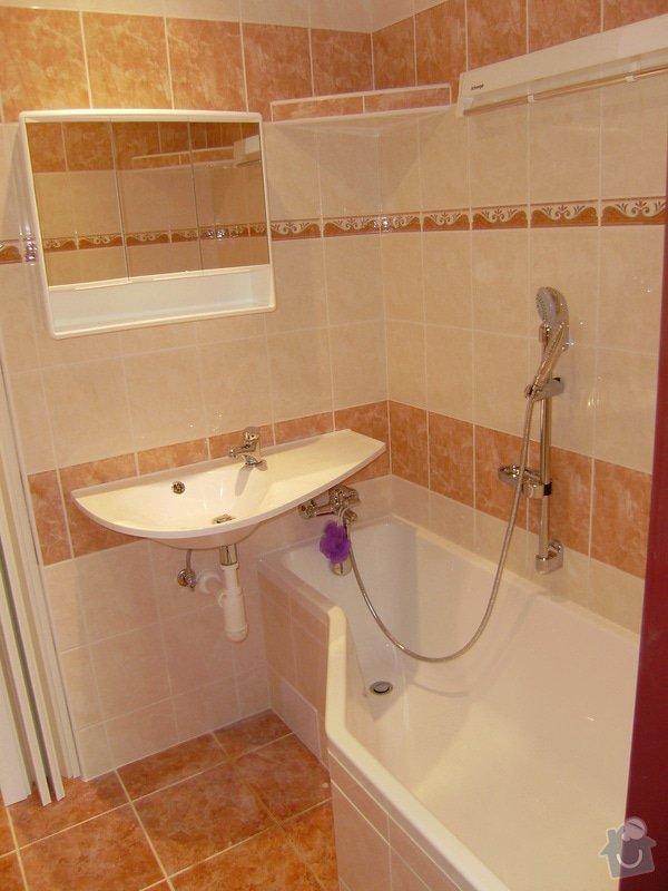 Rekonstrukce koupelny a WC: PB120067