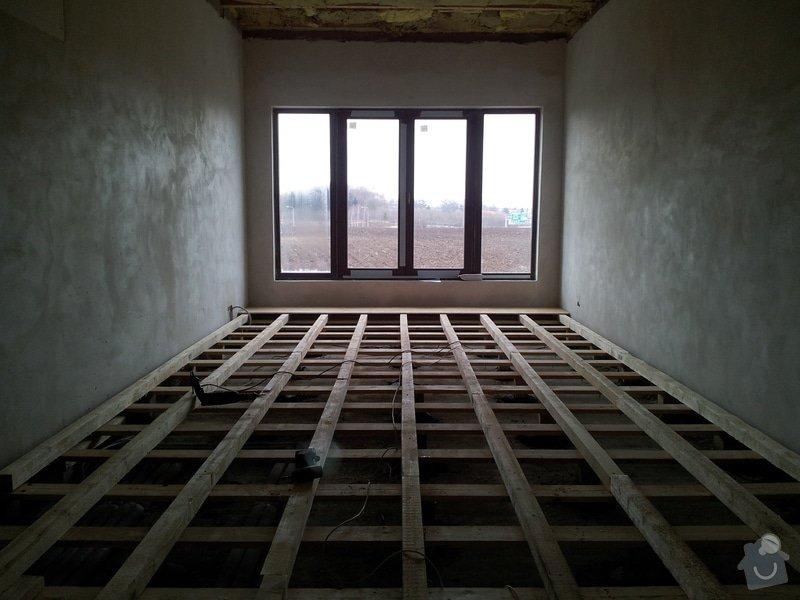 OSB podlaha a SDK podhled s topením: 20120301_123746