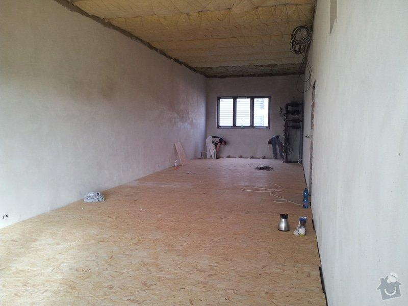 OSB podlaha a SDK podhled s topením: 20120301_151823