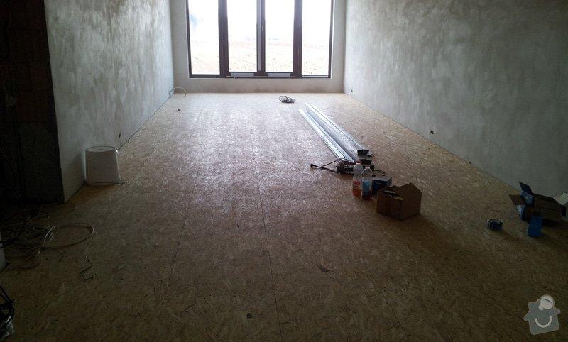 OSB podlaha a SDK podhled s topením: 20120305_104908