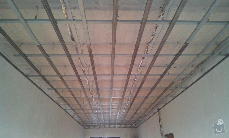 OSB podlaha a SDK podhled s topením: 20120305_165249