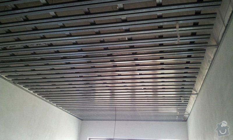 OSB podlaha a SDK podhled s topením: 20120306_105926