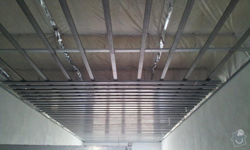 OSB podlaha a SDK podhled s topením: 20120306_105947