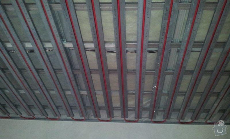 OSB podlaha a SDK podhled s topením: 20120306_174524
