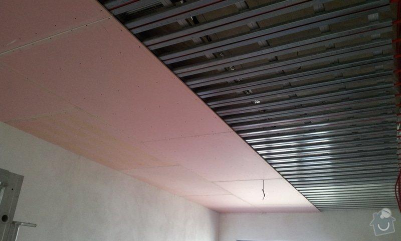 OSB podlaha a SDK podhled s topením: 20120307_122808