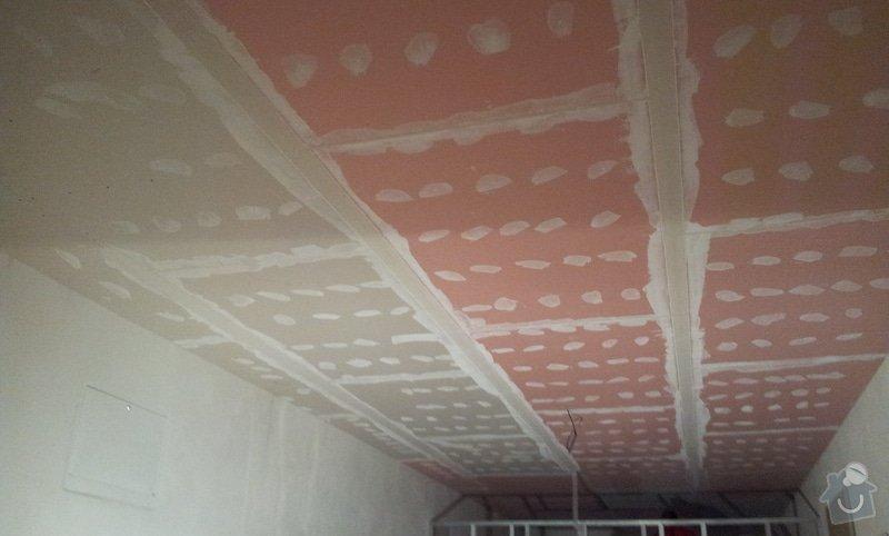 OSB podlaha a SDK podhled s topením: 20120307_181207