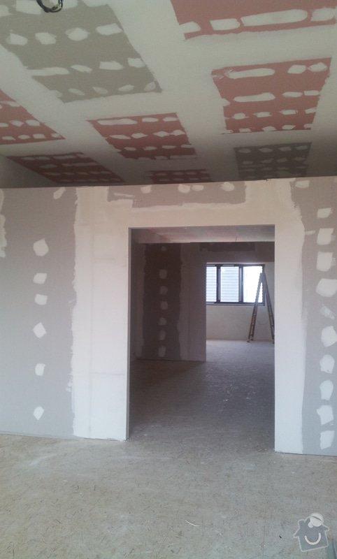 OSB podlaha a SDK podhled s topením: 20120310_103403