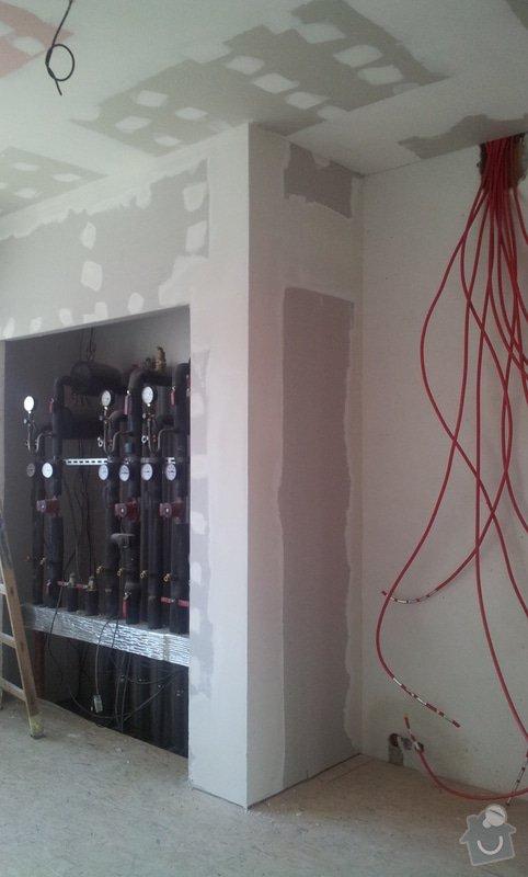 OSB podlaha a SDK podhled s topením: 20120310_103435