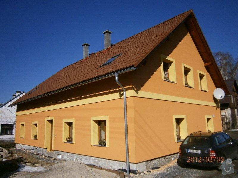 Fasáda na rodinném domě v Hejnicích: P3050003