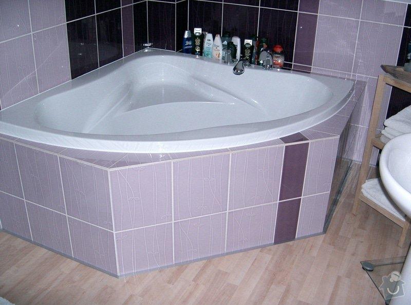 Realizace koupelny v podkroví v RD: CIMG1