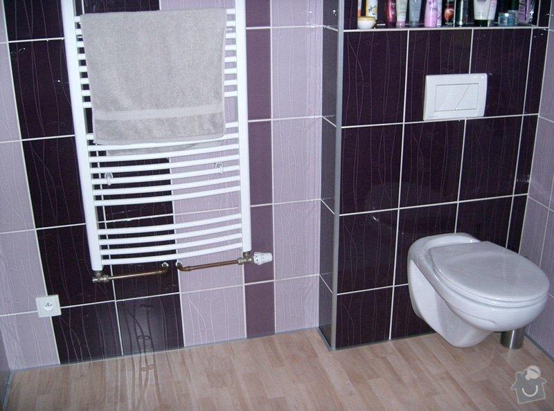 Realizace koupelny v podkroví v RD: CIMG3138