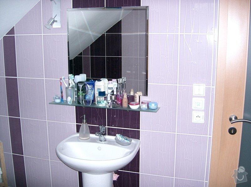Realizace koupelny v podkroví v RD: CIMG3140