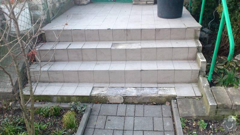 Oprava venkovních schodů: Schody_1