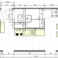 Rekonstrukce bytoveho jadra vybourani panelu byt47predrekonstrukci