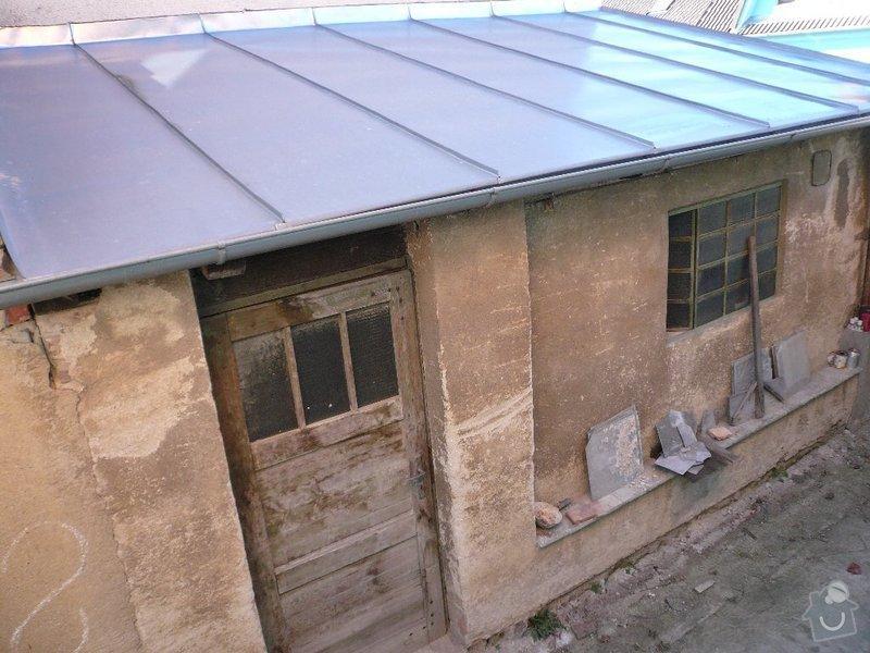 Demolice garáže a dílny + odvoz suti.: P1040325