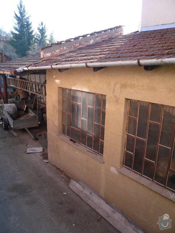 Demolice garáže a dílny + odvoz suti.: P1040327