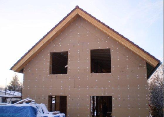 Dodání materiálu pro stavbu RD