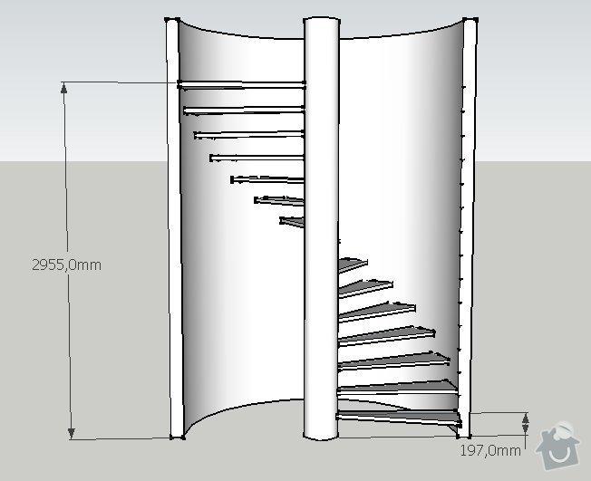 Točité schodiště: schody2