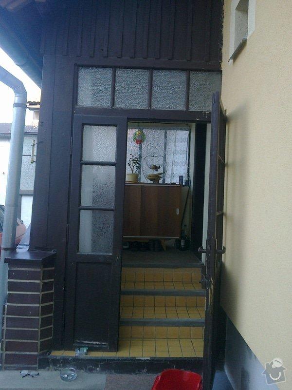Rekonstrukce staré verandy: 18032012300