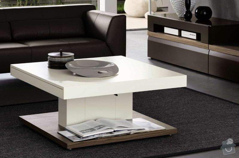 Konferenční lakovaný stolek: STOLEK_2a