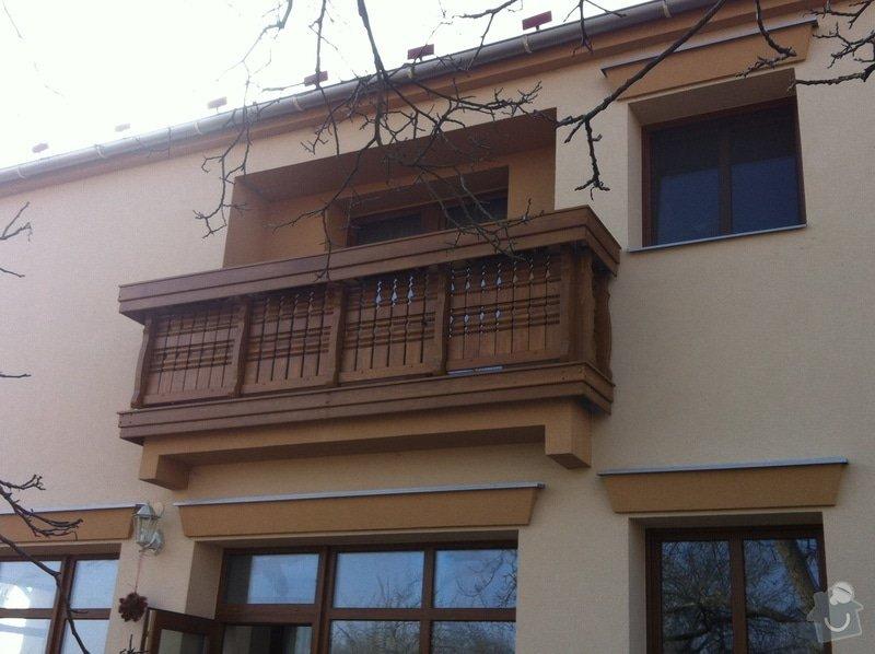 Výroba dřevěného balkónu v alpském stylu: IMG_3158