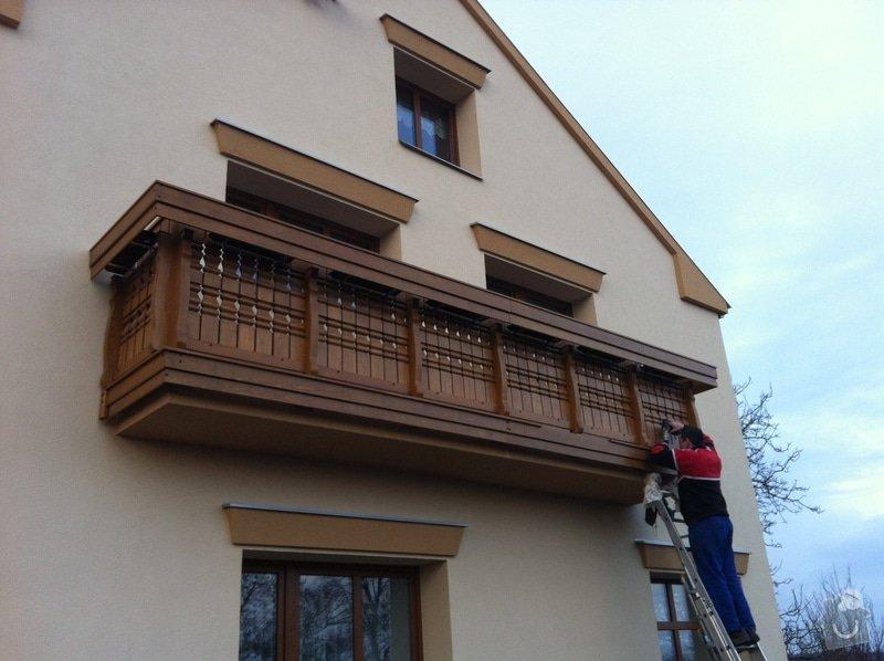 Výroba dřevěného balkónu v alpském stylu: IMG_3164