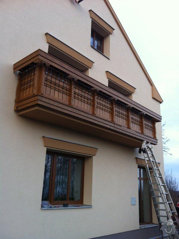 Výroba dřevěného balkónu v alpském stylu: IMG_3165