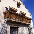 Vyroba dreveneho balkonu v alpskem stylu img 3157