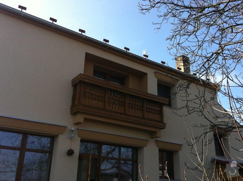 Výroba dřevěného balkónu v alpském stylu: IMG_3159
